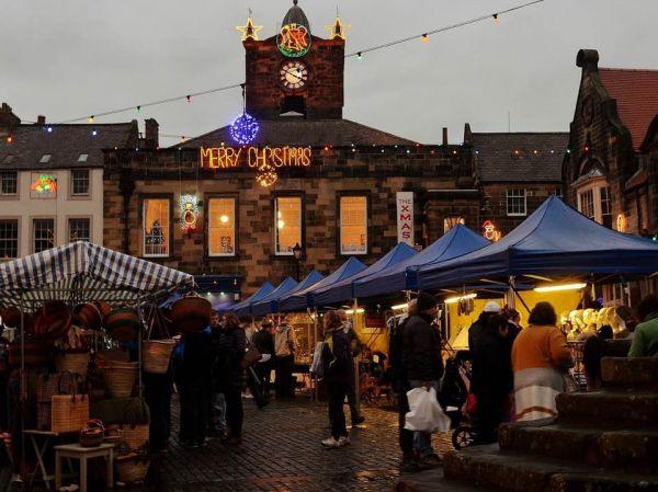 Alnwick Christmas Market