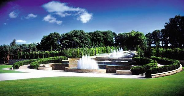 Alnwick Garden is near Alnwick Castle