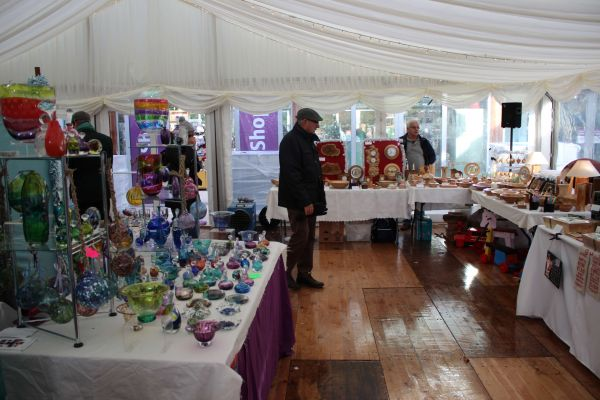 Alnwick Garden Christmas market