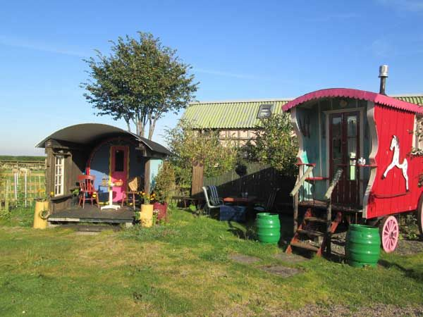 Glamping in the sun is near The Alnwick Garden
