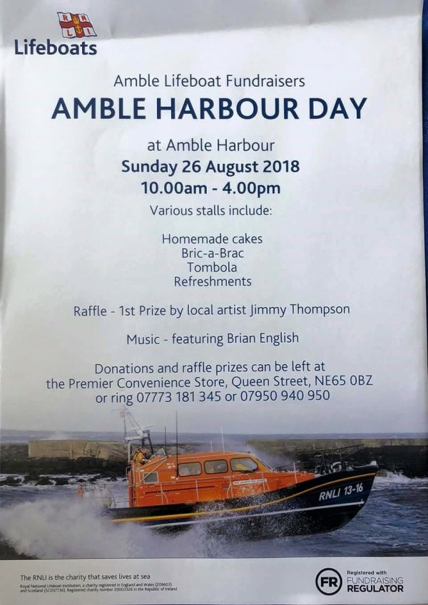 Amble Harbour Day