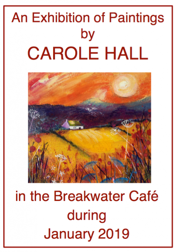 An exhibition of paintings by Carole Hall