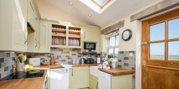 April Cottage Kitchen