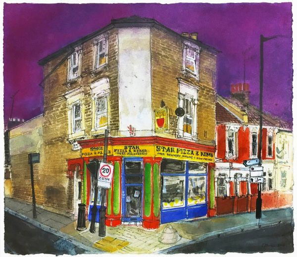 Art Exhibition. Peter Quinn: Watercolours
