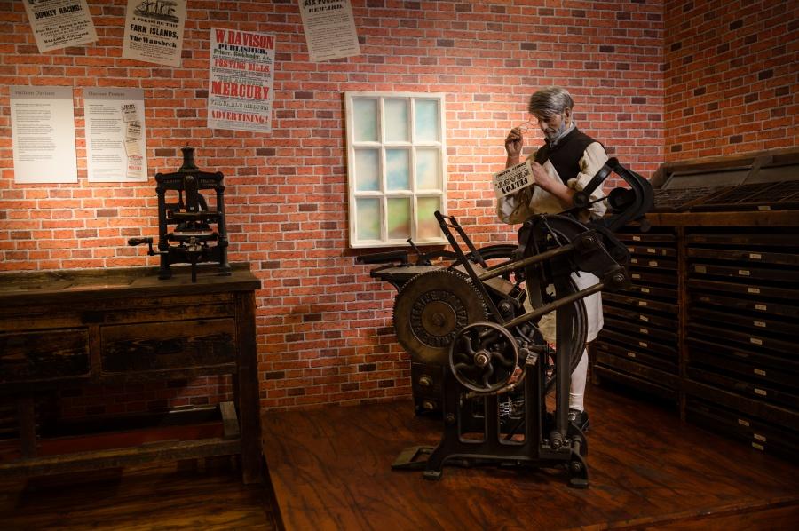 The Printer's Shop