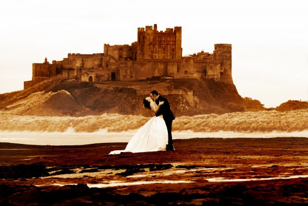 Weddings at Bamburgh Castle is near Budle Bay Croft
