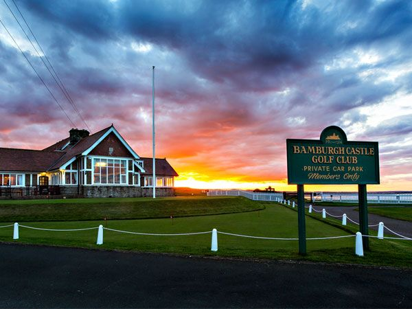 Welcome to Bamburgh Castle Golf Club is near Lucker Mill House B&B and Shepherd's Hut