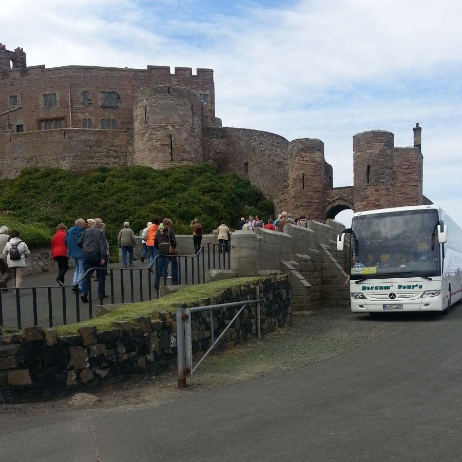 Group visit to Bamburgh Castle