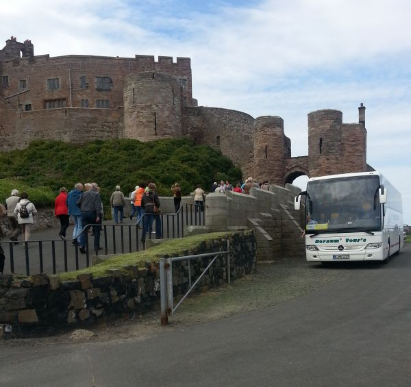 Group visit to Bamburgh Castle