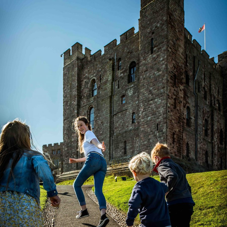 Family friendly Bamburgh Castle