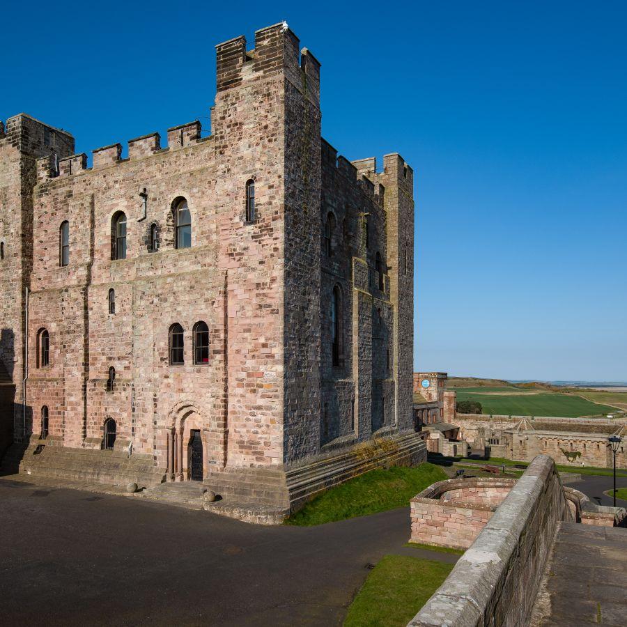 The Keep at Bamburgh Castle