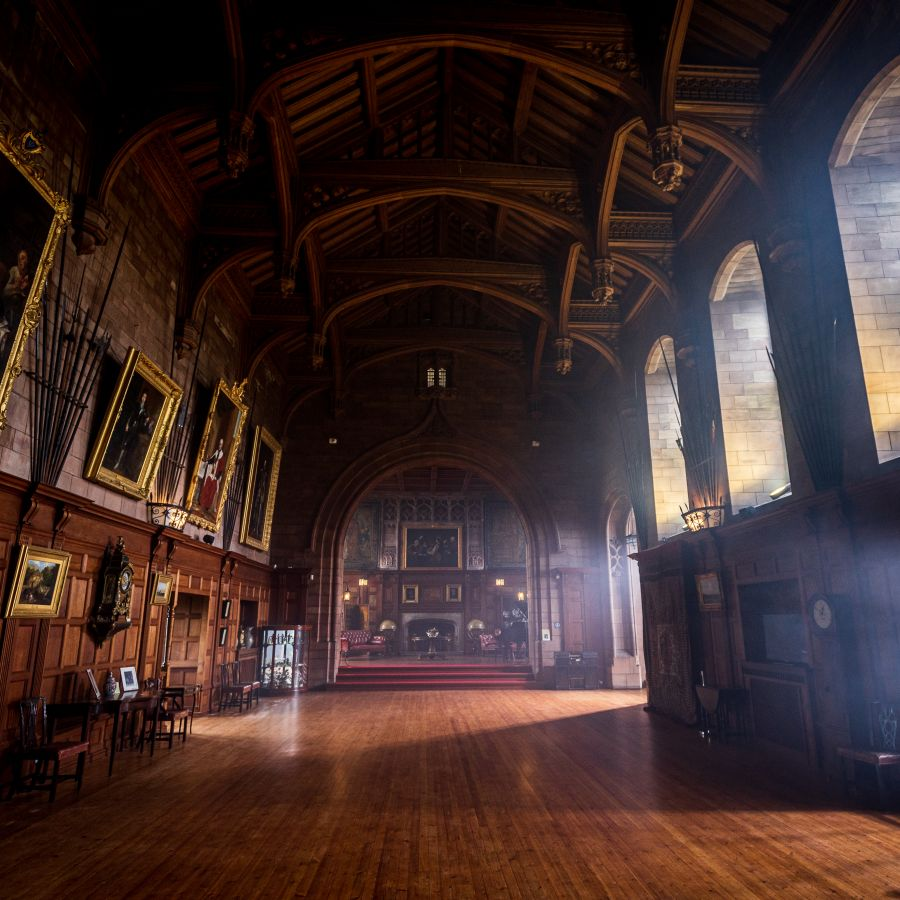 The King's Hall at Bamburgh Castle