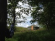 Merle Yurt amoungst woods and fells