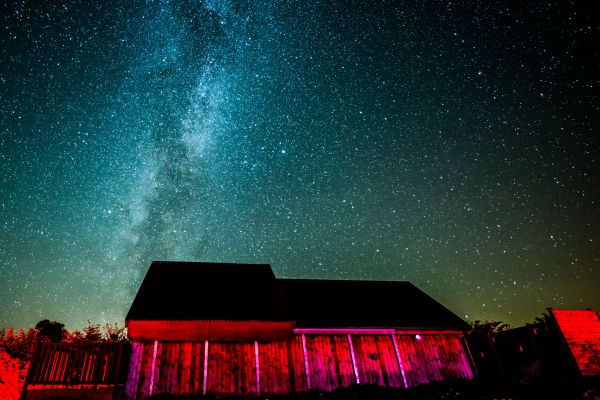 milky way is near Demesne Farm Campsite & Bunkhouse