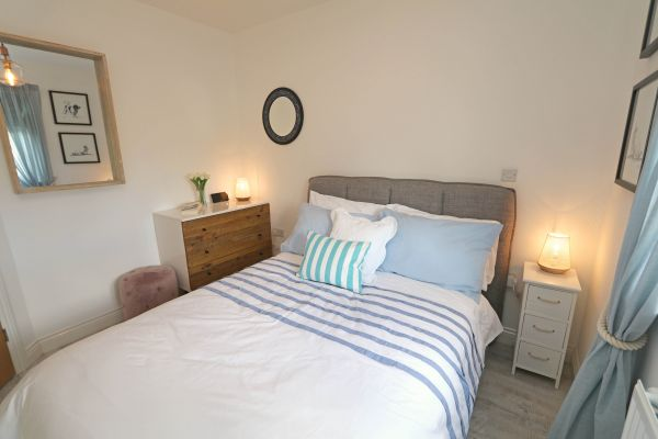Beachy Point, Beadnell, double bedroom