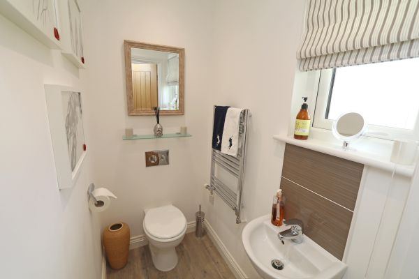 Beachy Point, Beadnell, downstairs WC