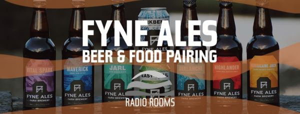 Beer and Food Pairing: Fyne Ales Beer Showcase