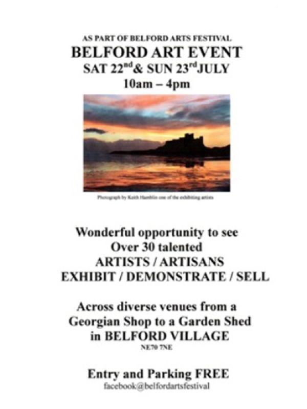 Belford Art Show
