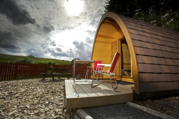 Yurt is near Luxury Two Night Northumberland Stay for Two from £149.00
