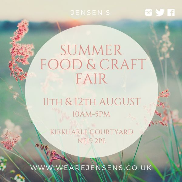 Jensen's Summer Food & Craft Fair