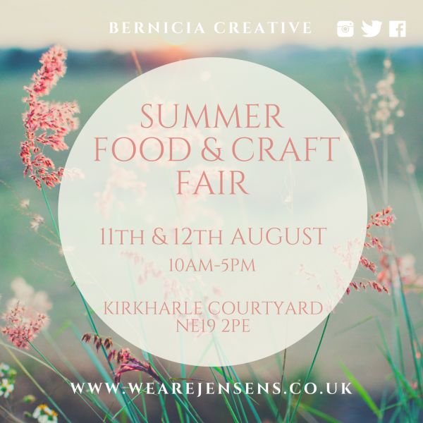 Bernicia Creative Summer Fair