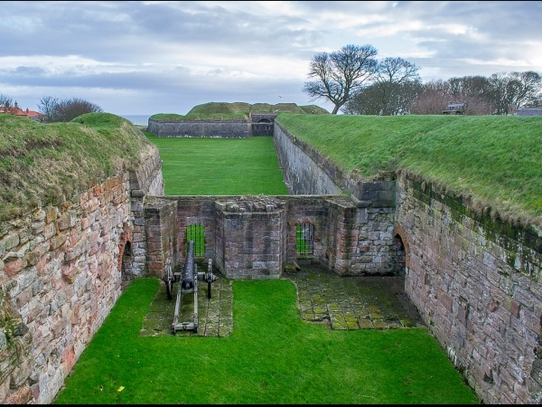 Elizabethan Fortifications is near Northumbria Byways