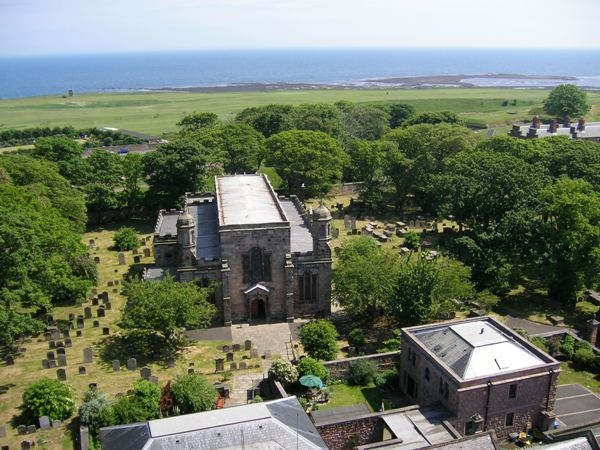 Church and Coastline is near Northumbria Byways