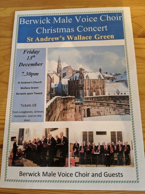 Berwick Male Voice Choir and Guests