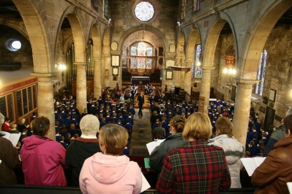 Parish Church Choir is near Longridge Towers School
