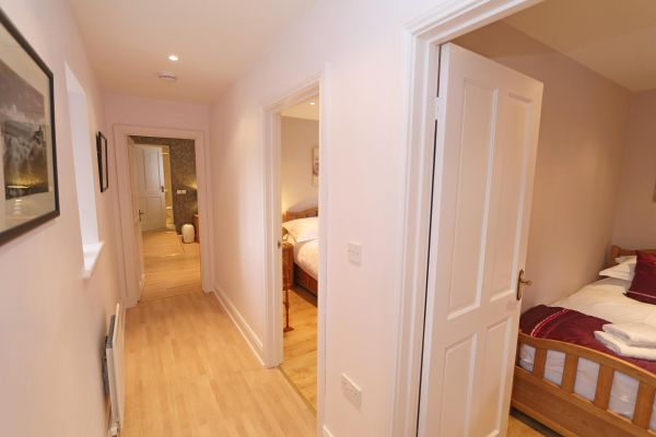 Blue Barn, Bamburgh - hallway