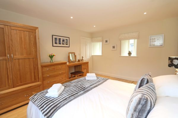 Blue Barn, Bamburgh - spacious master bedroom