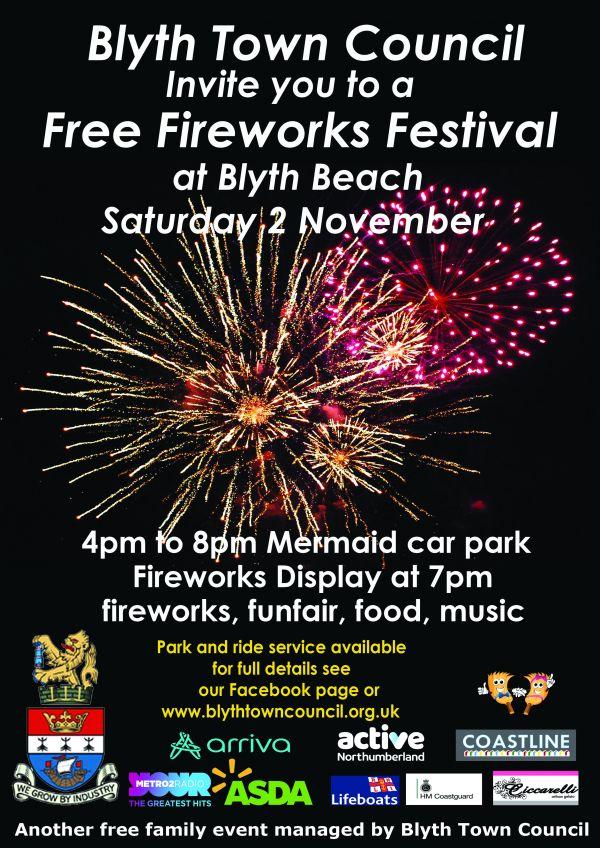 Blyth Fireworks 2019