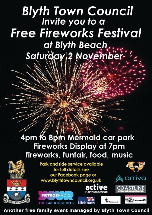 Blyth Fireworks Festival 2019