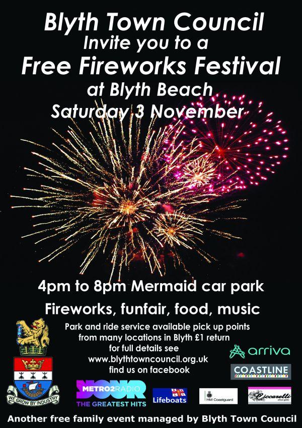 Blyth Fireworks Festival