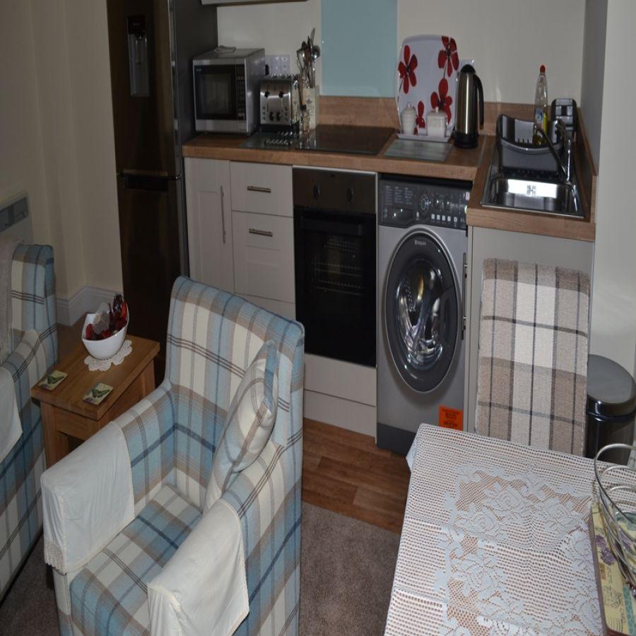 South Tyne Studio Kitchen Lounge Area