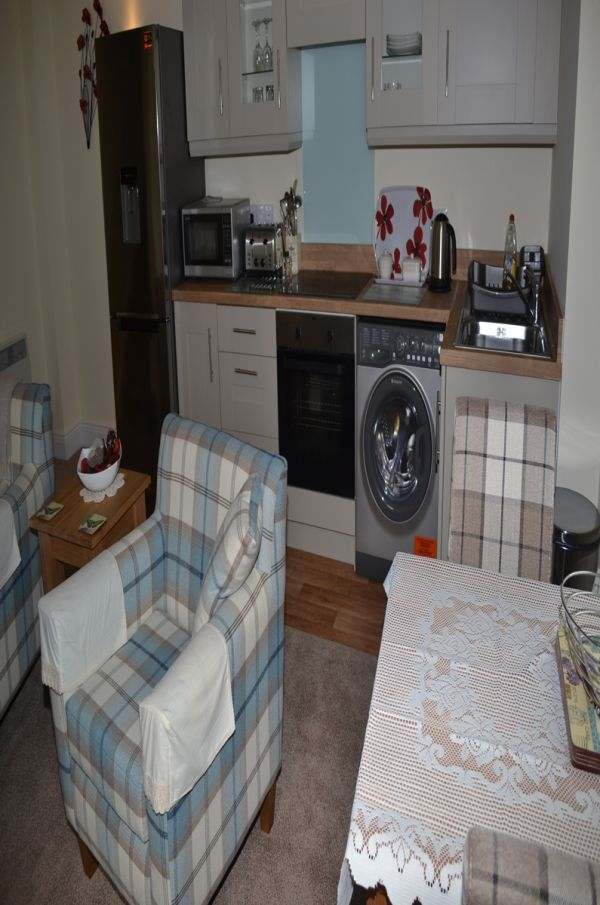 South Tyne Studio Kitchen Lounge Area