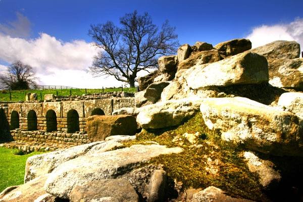 Chesters Roman Fort - Hadrians Wall