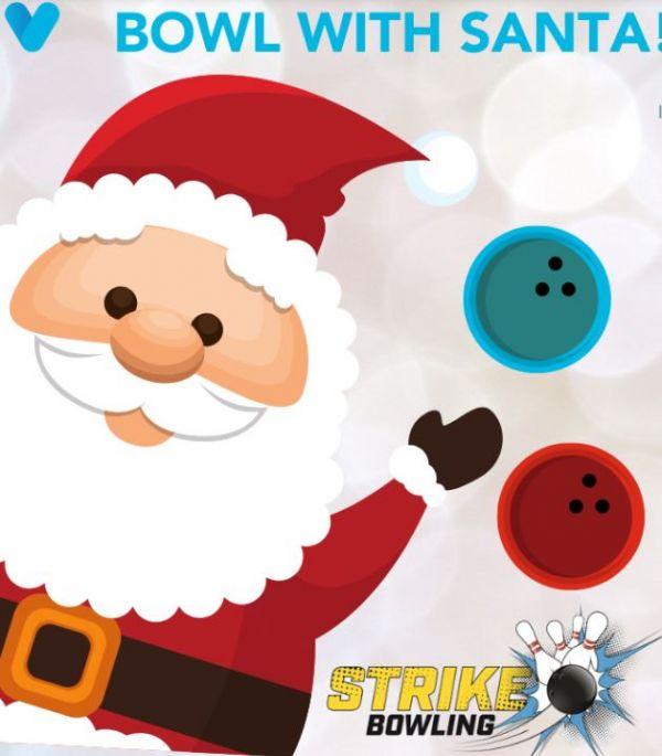 Bowl with Santa