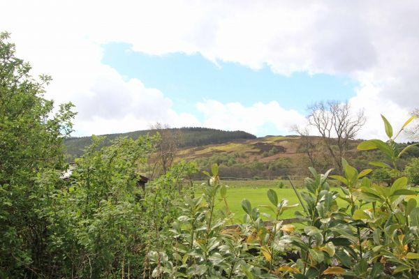Bridge End Cottage, Rothbury, view from garden