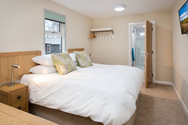 Guest Room with en-suite shower room is near The Heritage Centre at Bellingham