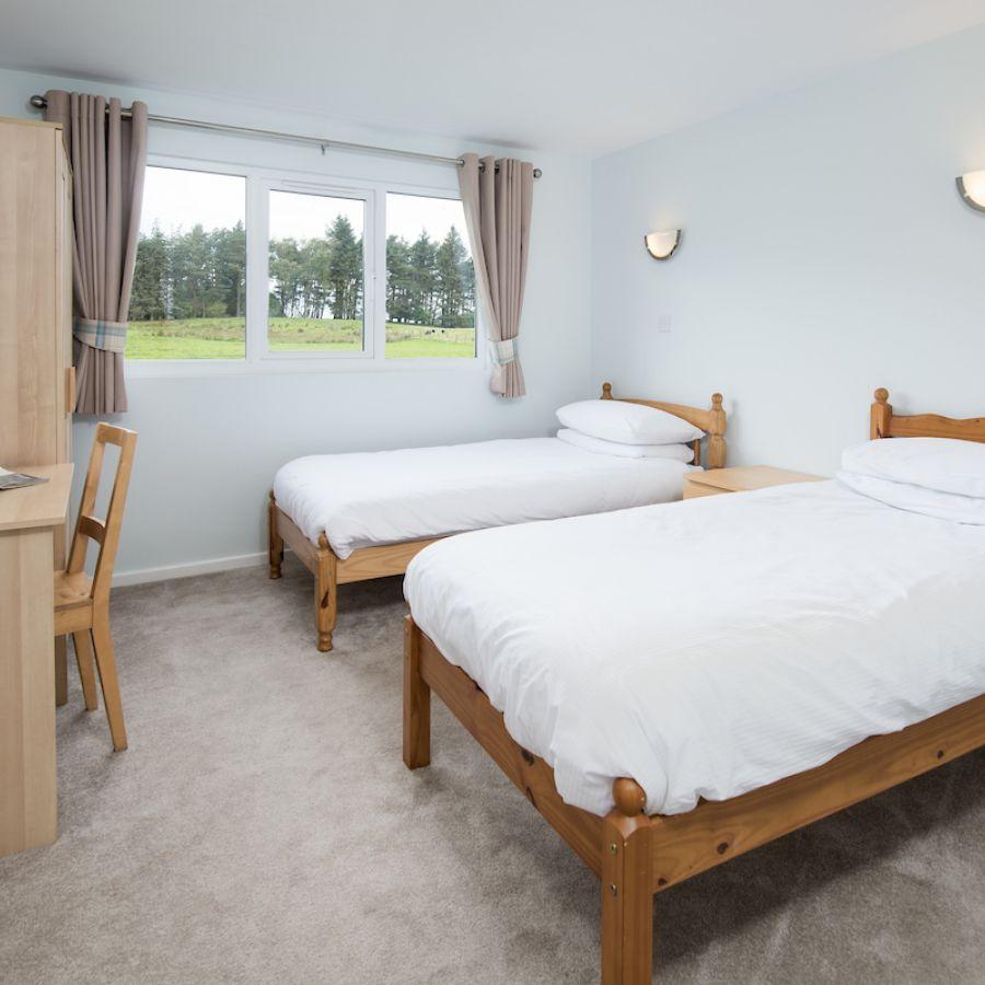 Twin bedroom Hadrian