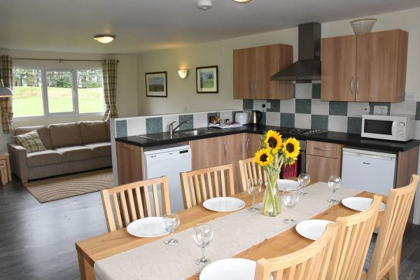 Cheviot Kitchen and dining area