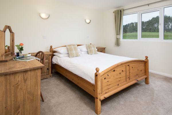 King bedroom in Cheviot
