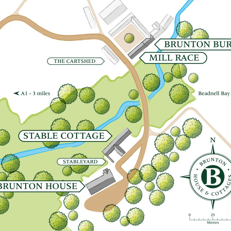 Brunton Guest Map