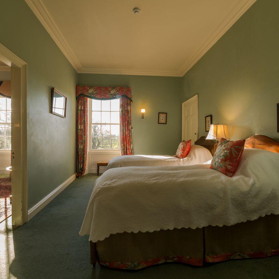 Blue Room (the twin/triple) - Budle Hall, Bamburgh, NE69 7AJ