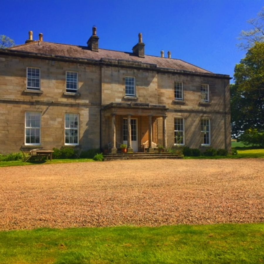 Budle Hall, Summer