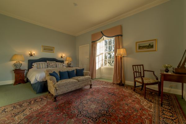 Blue Room (the double) - Budle Hall, Bamburgh, NE69 7AJ