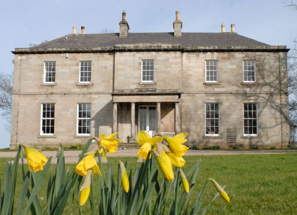 Budle Hall in Spring