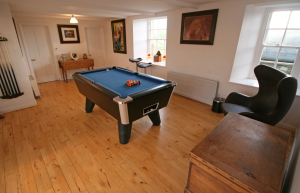Games room is near St Mary's Church