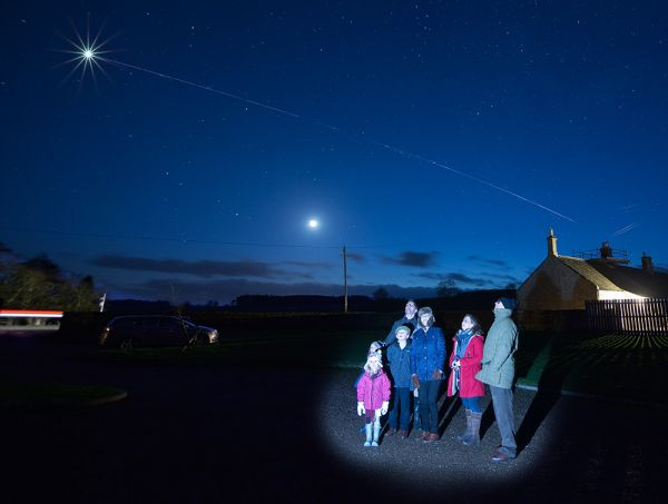 Stargazing evenings on site